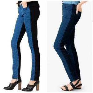 Kate Spade Saturday Two Toned Skinny Jeans